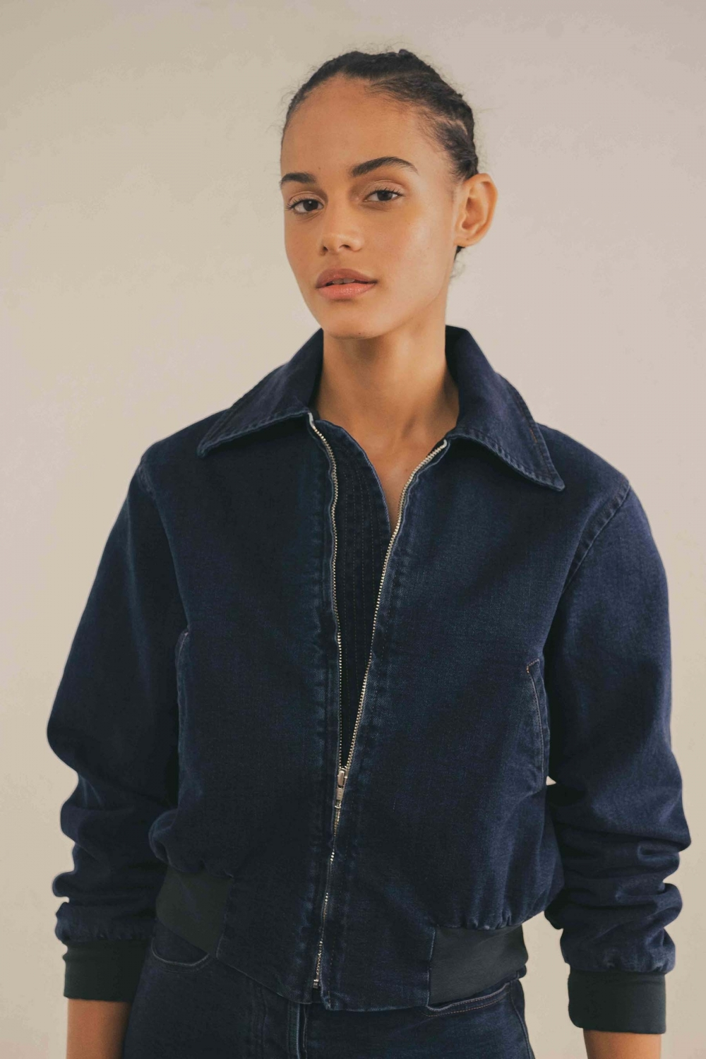 BOMBER DENIM INDIGO