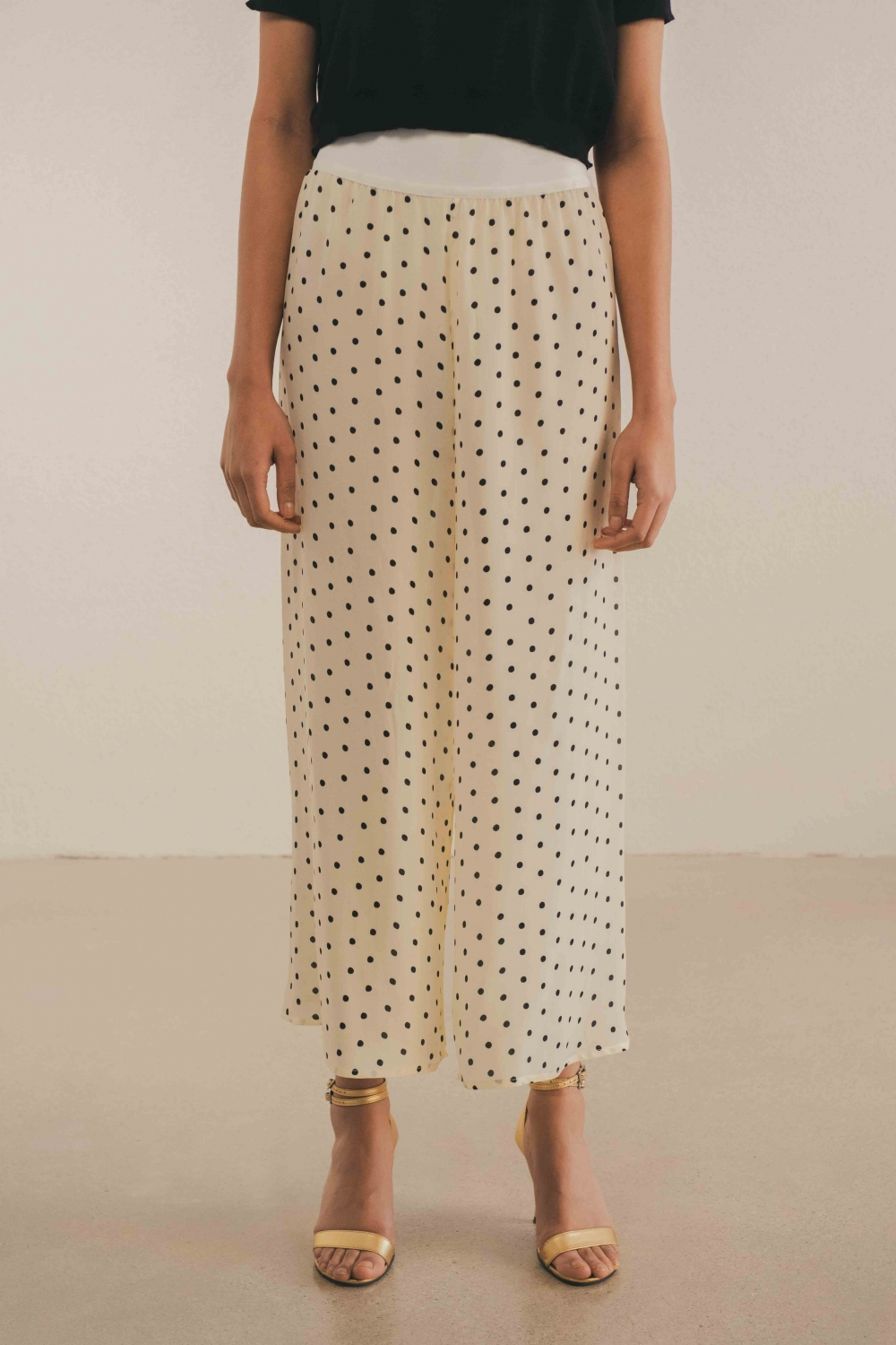 THE ICONIC POLKA-DOT SILK...