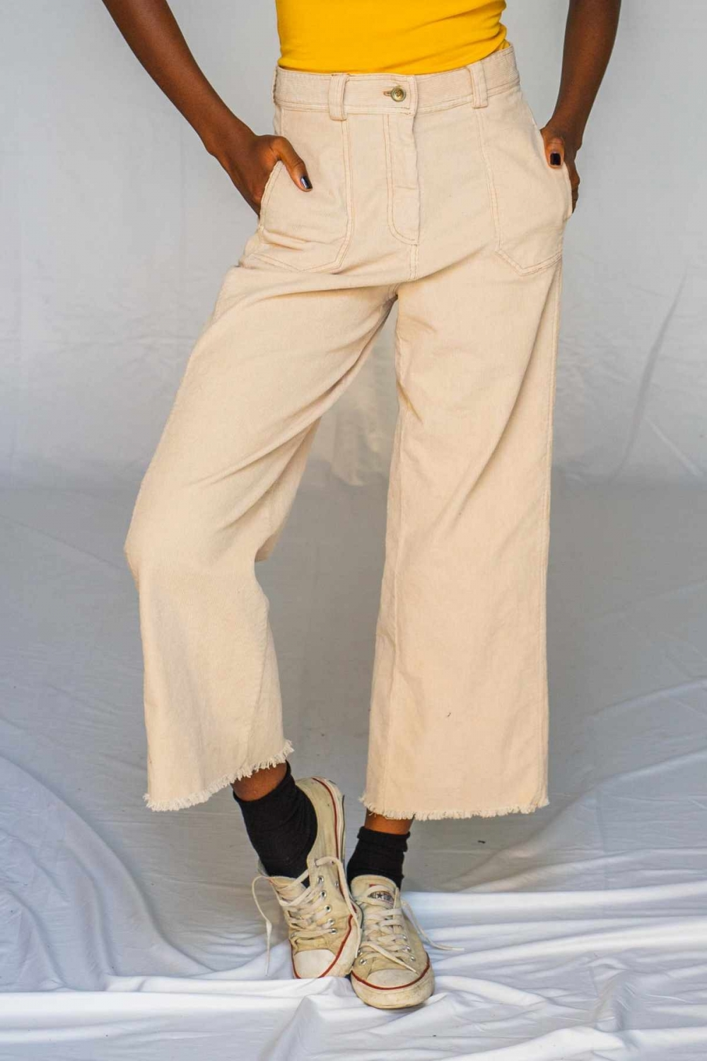 KORINA CORDUROY TROUSERS IN...