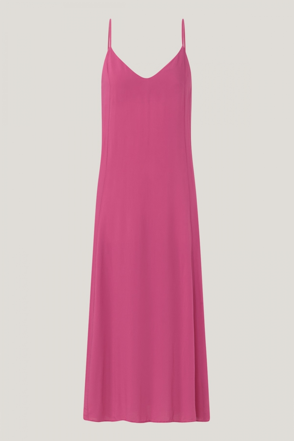 LUCY LONG DRESS IN SUPER PINK