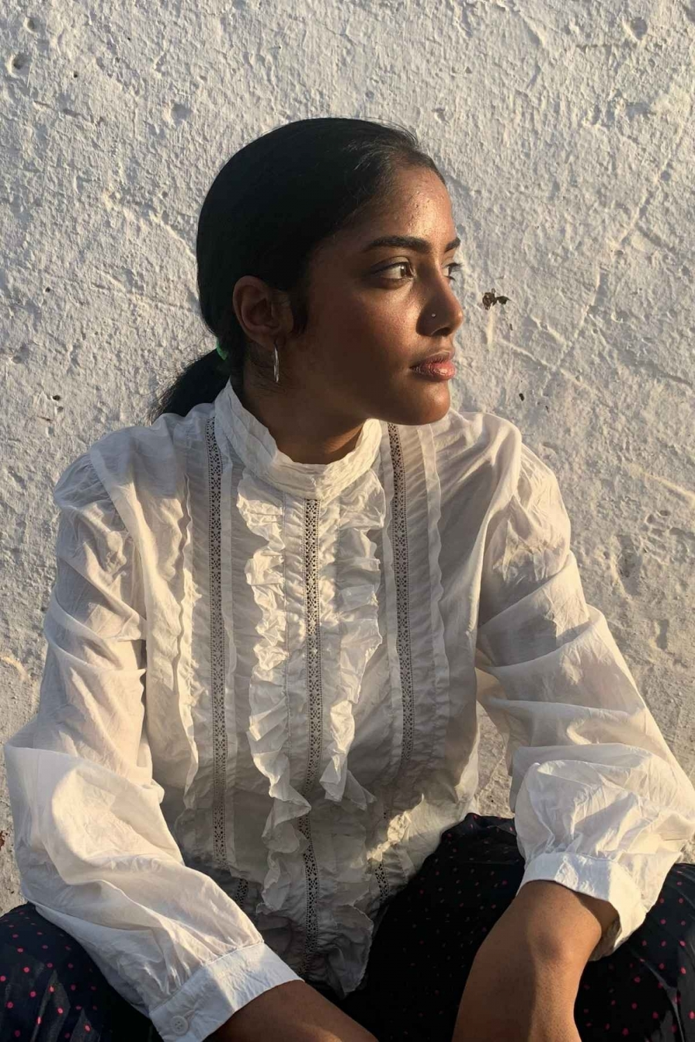 MAUD BLOUSE WITH LACE